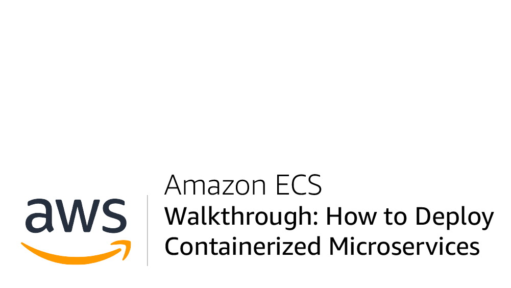 Module One - Containerize the Monolith   AWS