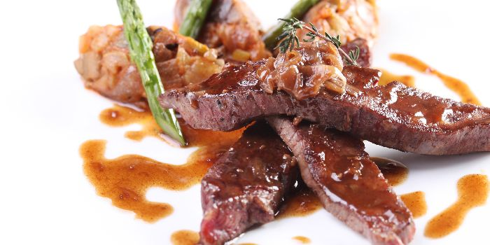 Beef from Allure French Cuisine in Le Royal Méridien Shanghai, Huangpu, Shanghai