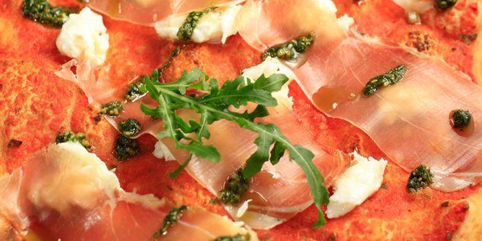 Ferrari Pizza from Alla Torre (Lujiazui) on Lujiazui Huan Lu, Lujiazui, Shanghai