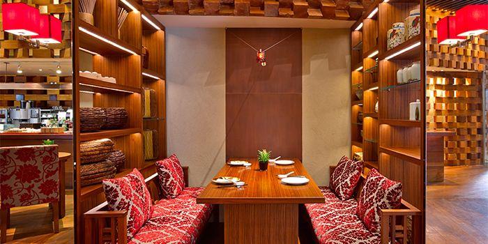 Interior 2 of Hai Pai Restaurant in Andaz Xintiandi, Shanghai