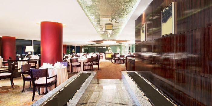 Interior of Ai Mei Chinese Restaurant in Le Royal Méridien Shanghai, Huangpu, Shanghai