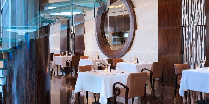 Interior of Allure French Cuisine in Le Royal Méridien Shanghai, Huangpu, Shanghai