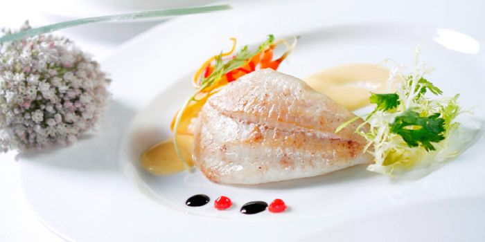 Seabass from Allure French Cuisine in Le Royal Méridien Shanghai, Huangpu, Shanghai