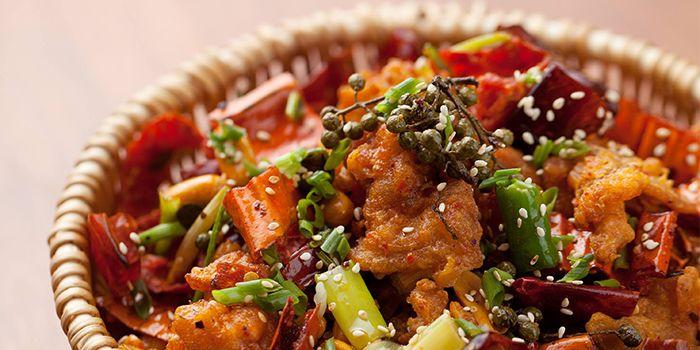 Spicy Chicken from Hai Pai Restaurant in Andaz Xintiandi, Shanghai