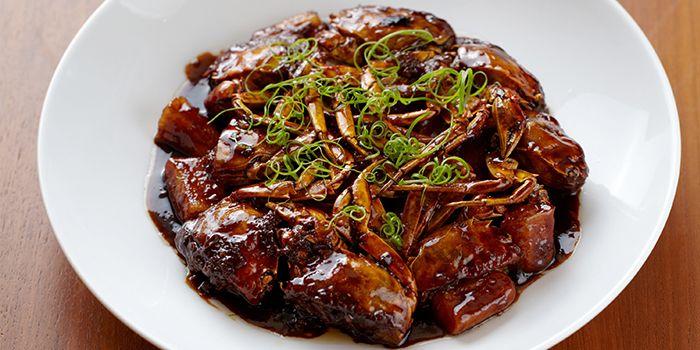 Stir Fried Hairy Crab from Hai Pai Restaurant in Andaz Xintiandi, Shanghai