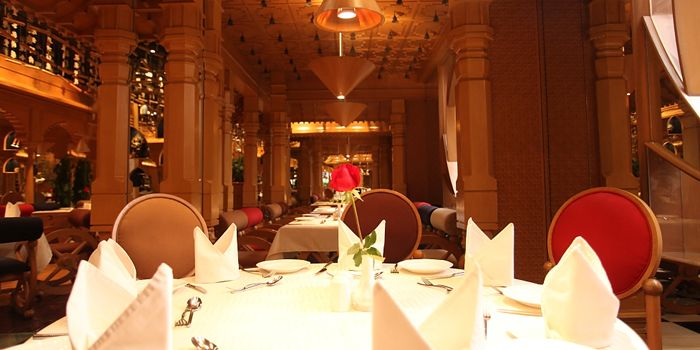 Indoor of Tandoor Indian Restaurant in ZhaoLong Hotel, Chaoyang