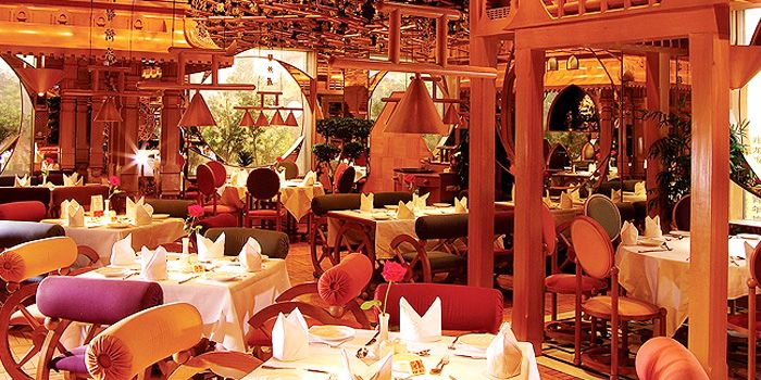 Interior of Tandoor Indian Restaurant in ZhaoLong Hotel, Chaoyang