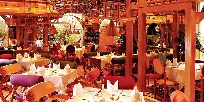 Interior of Tandoor Indian Restaurant in ZhaoLong Hotel, Chaoyang