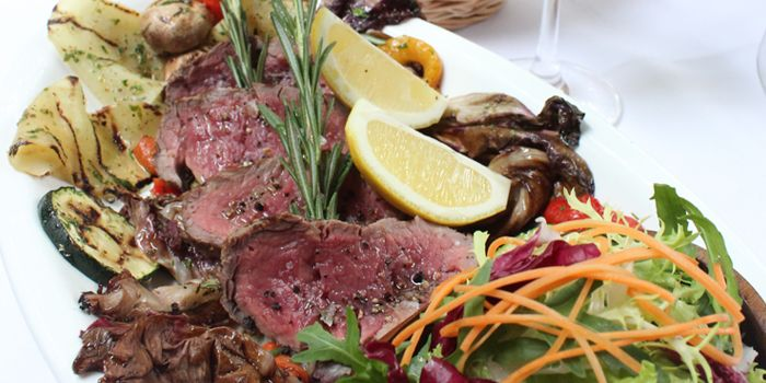 Meat Platter from Palatino Roman Cuisine in Former French Concession in Shanghai