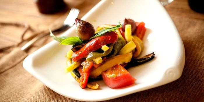 Mixed Vegetables from Art-restaurant Dacha at Ritan Hotel in Ritan, Beijing
