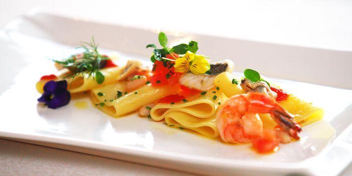 Seafood Pasta from Daccapo Italian Restaurant in Wangfujing, Beijing
