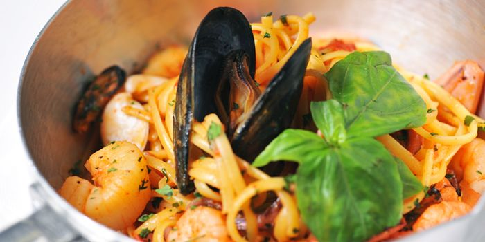 Seafood Pasta from Bella Napoli (Changle Lu) in Jingan, Shanghai