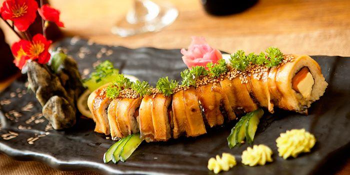 Sushi from Art-restaurant Dacha at Ritan Hotel in Ritan, Beijing