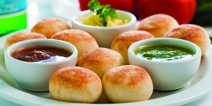 Baked Doughballs, PizzaExpress (Raffles City), Shanghai