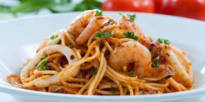 Spaghetti Frutti di Mare, PizzaExpress (Raffle City), Shanghai,