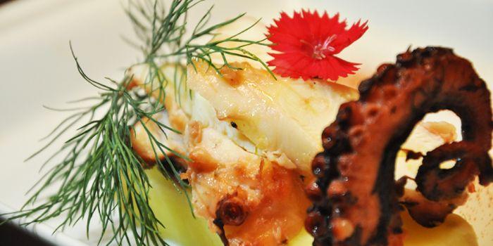 Fish Dish from Albero Spanish Restaurant in Grand Kempinski Hotel Shanghai, Pudong, Shanghai