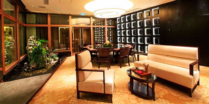 Interior of Lunar 8 in The Fairmont Beijing, Beijing