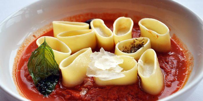 Pasta from Acqua in Grand Kempinski Hotel Shanghai, Pudong, Shanghai