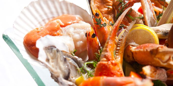 Seafood Spread from Senses in The Westin in Xidan, Beijing