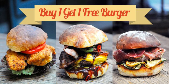 Burger Promo from MUST Grill on Wuding Lu, Jingan, Shanghai