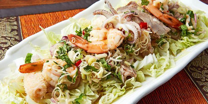Seafood Salad from Urban Thai (Changle Lu) in Jingan, Shanghai