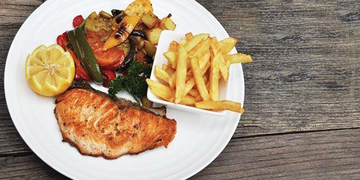 Pan Fried Fish from MUST Grill on Wuding Lu, Jingan, Shanghai