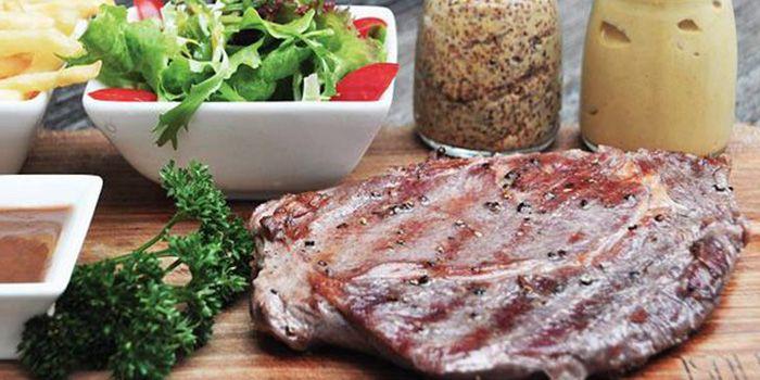 Beef Steak from MUST Grill on Wuding Lu, Jingan, Shanghai