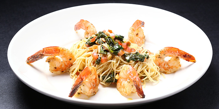 Shrimp Scampi Cappelini from Morton