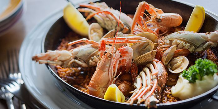 Mixed Seafood Platter from el Willy in The Bund, Shanghai