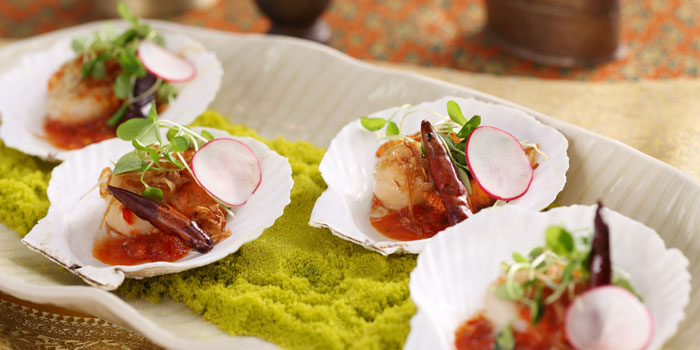 Scallop-salad from Patara Fine Thai Cuisine restaurant in Dongcheng District, beijing