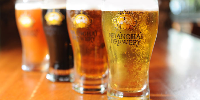 Beer from Shanghai Brewery in Xuhui District,shanghai