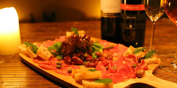 Cold Cuts Platter from the Uva wine bar in Jing