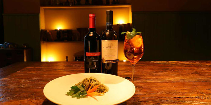 Pasta from the Uva wine bar in Jing