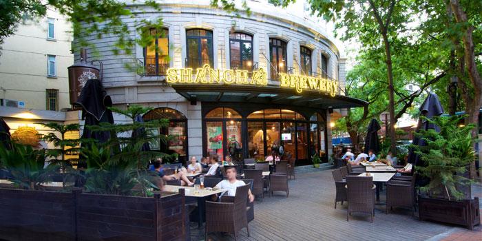 Shanghai Brewery Exterior in Xuhui District,shanghai