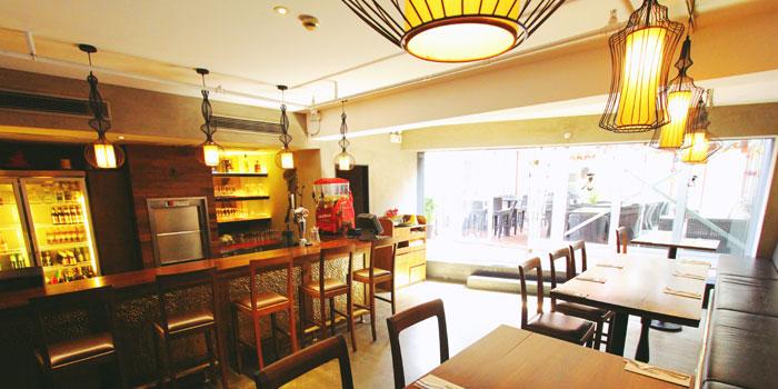 Interior of the Pistolera (Hengshan) in Xuhui District,Shanghai