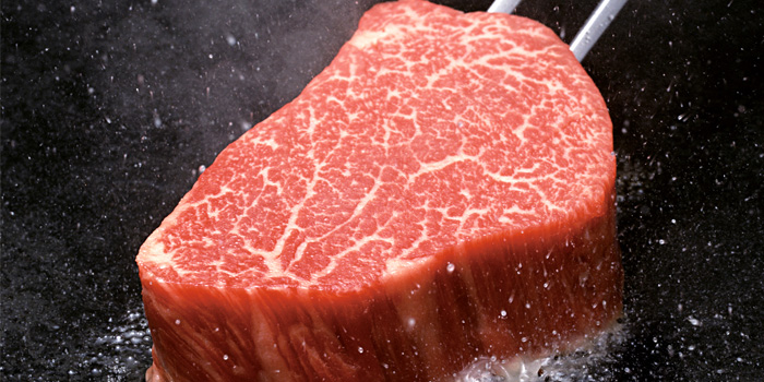Steak from Itsuki Teppanyaki located on Donghu lu, Shanghai
