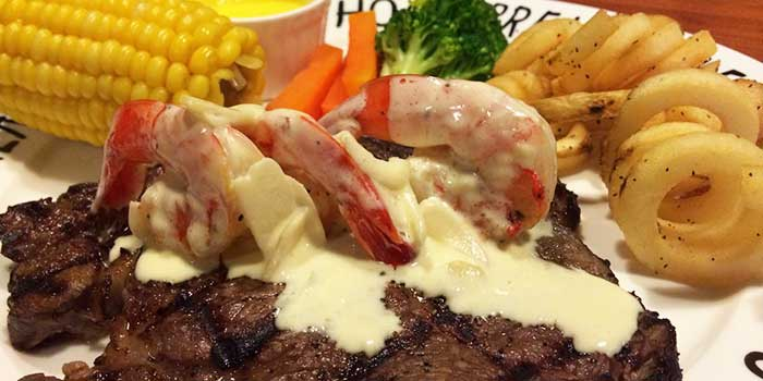 Surf and Turf from Hog's Breath Cafe in SOHO Fuxing Plaza, Shanghai