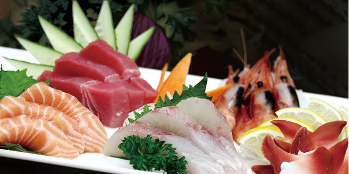 Sushi Plate from Itsuki Teppanyaki located on Donghu lu, Shanghai