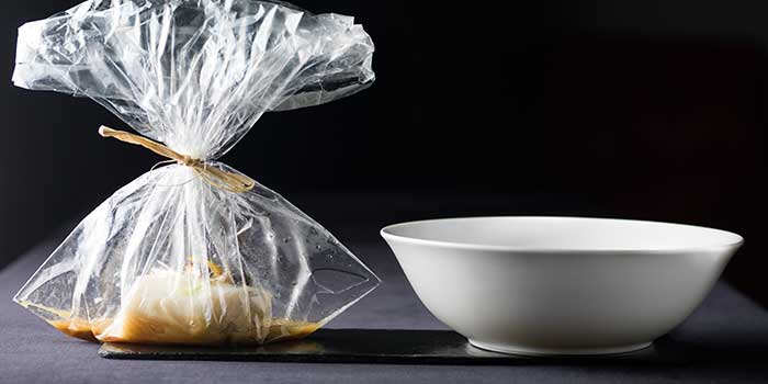 Black Cod in a Bag from Mr & Mrs Bund - Modern Eatery by Paul Pairet in Huangpu District, Shanghai