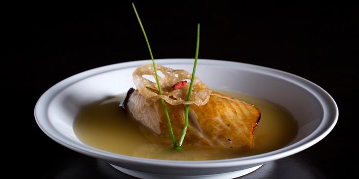 Hakkasan roasted silver cod of Hakkasan located on the bund