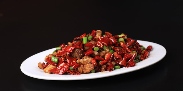 Hot dishes of Di Shui Dong located on DongpingLu