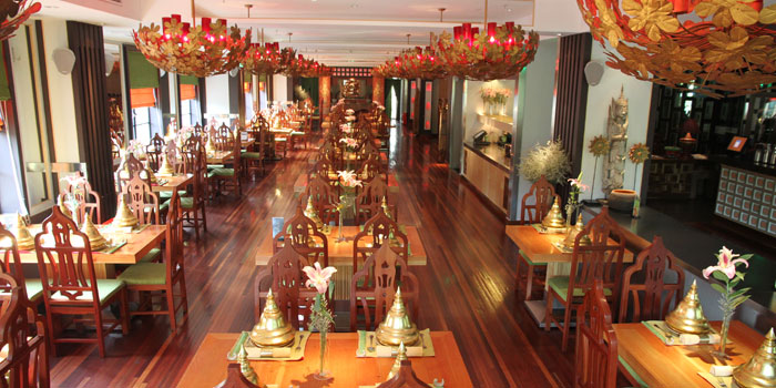 Indoor of Coconut Paradise located on Wukang Lu