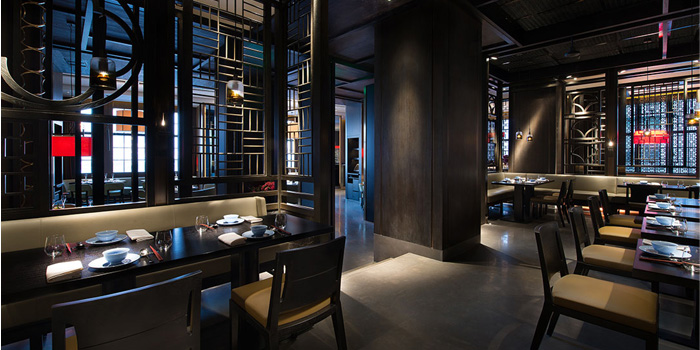 Indoor of Hakkasan located on the bund
