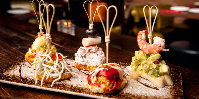 Food of Brownstone Tapas & lounge located on Yongjia Lu