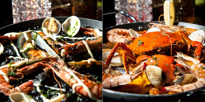 Sea Food of Brownstone Tapas & lounge located on Yongjia Lu