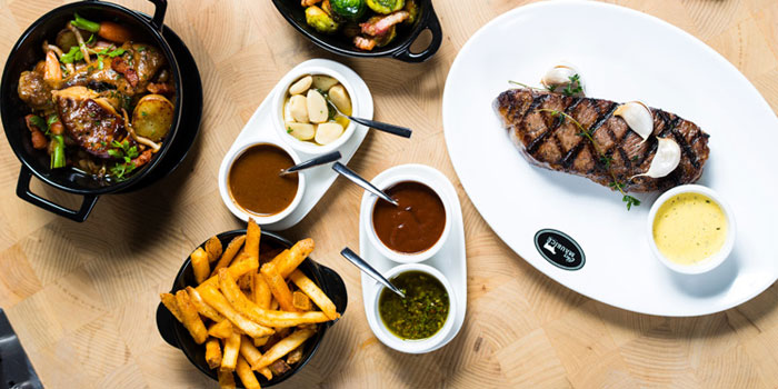 Selection of Chez Maurice Steakhouse located on Tai