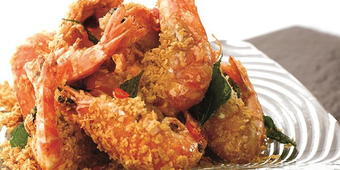 Fried Prawn with Cereal from JUMBO Seafood @ IFC in Pudong, Shanghai