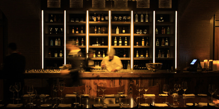 Bar of Dome located at Marriott Hotel Changfeng Park