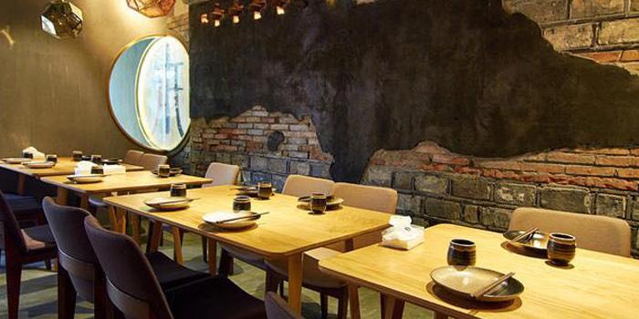 Indoor of Original Chuan located on Shaanxi Nan Lu