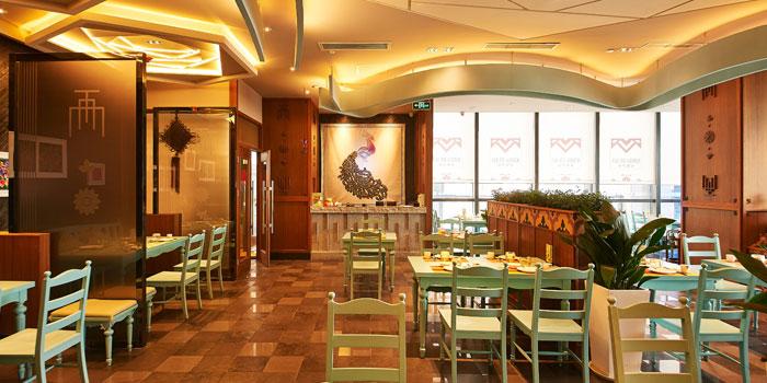 Indoor of Cha Ma Garden located on Zhongshan Nan Er Lu
